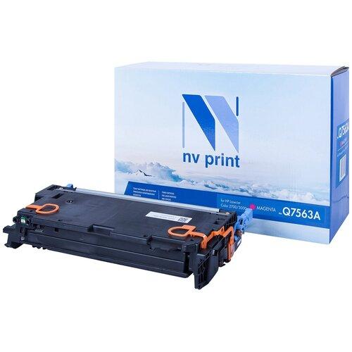 Фото - Картридж NV Print Q7563A для HP, совместимый картридж hp q7563a