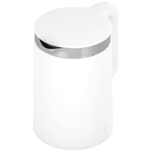 Чайник Xiaomi MiJia Smart Kettle Bluetooth YM-K1501, белый умный чайник xiaomi mi smart kettle bluetooth eu ym k1501