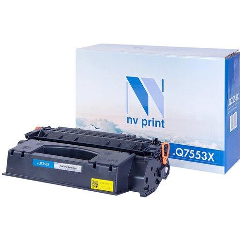 Фото - Картридж NV Print Q7553X для HP, совместимый картридж nv print cf237x для hp совместимый