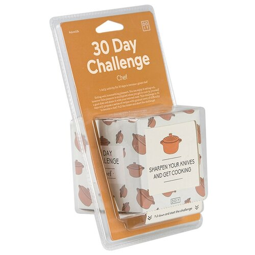 Настольная игра Doiy 30 Day Challenge Chef