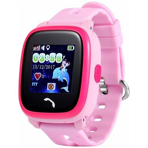 Детские умные часы Smart Baby Watch GW400S, розовый детские умные часы smart baby watch gw400s голубой