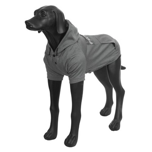 Толстовка для собак RUKKA Thrill Technical Sweater серая размер L 42,5см