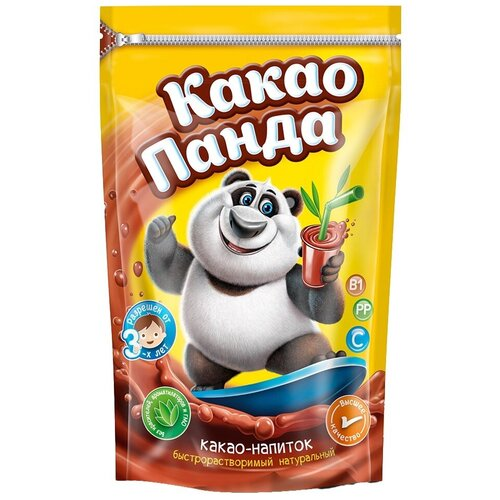 Какао-Панда какао-напиток быстрорастворимый, пакет, 250 г
