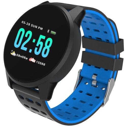 Умные часы Qumann QSW 01, black/blue