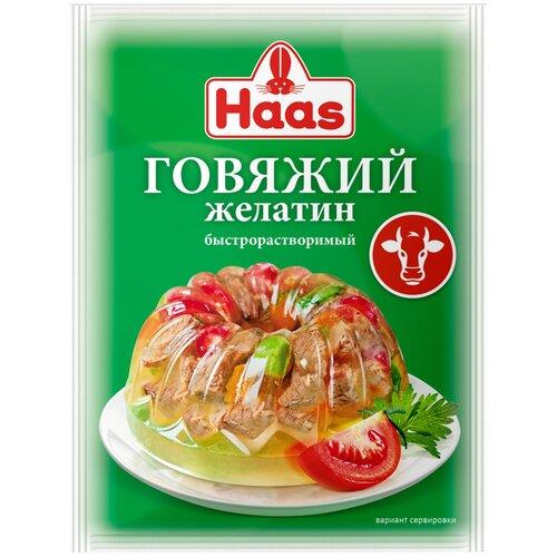 Haas Желатин говяжий (1 шт. по 20 г)