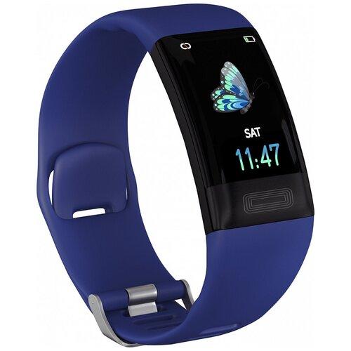 Умный браслет GSMIN E11, синий