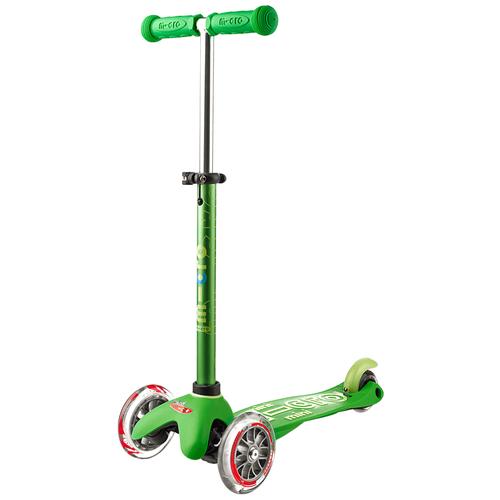 Детский кикборд Micro Mini Micro Deluxe, green