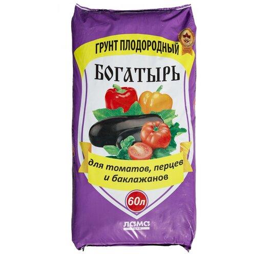 Фото - Грунт ЛамаТорф Богатырь для томатов, перцев и баклажанов 60 л. грунт veltorf premium для томатов и перцев 10 л