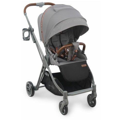 Прогулочная коляска Happy Baby Luna, grey happy baby коляска трость happy baby twiggy green