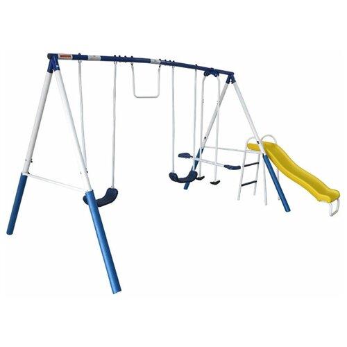 Детский комплекс DFC 74201 (качели, качели-балансир, горка)