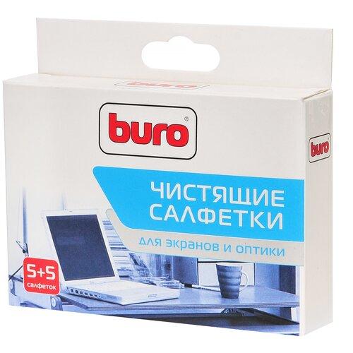 Фото - Набор Buro BU-W/D влажные салфетки+сухие салфетки 10 шт. салфетки влажные для экранов favorit offic f130001 screen clean 100шт