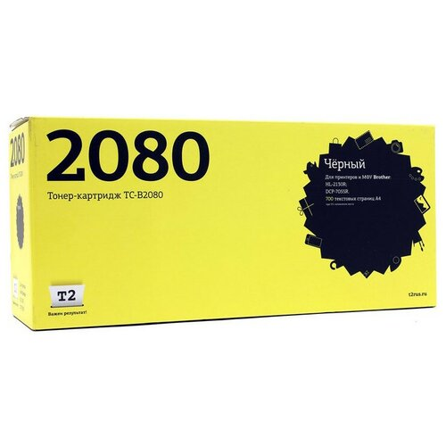 Фото - Картридж T2 TC-B2080, совместимый картридж t2 tc sh235gt совместимый