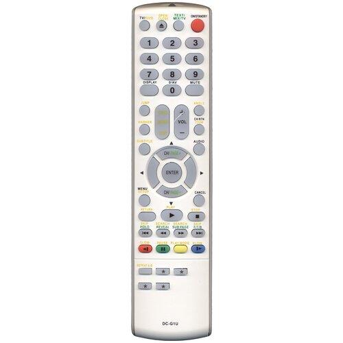 Фото - Пульт Huayu DC-G1U (DC-G2U) для tv+dvd Toshiba пульт huayu zd3279 14ctn50bg для tv dvd akai