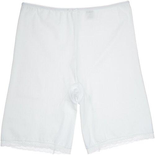 MiNiMi Трусы панталоны с завышенной талией, размер 46/M, белый (bianco)