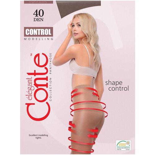 Колготки Conte Elegant Control, 40 den, размер 2, shade (коричневый)