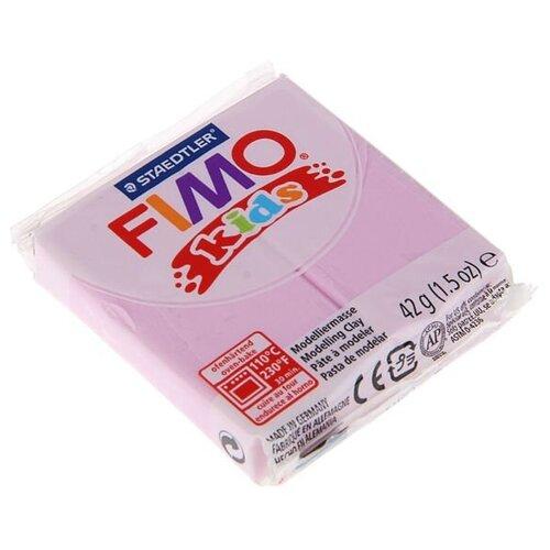 Полимерная глина FIMO kids 42 г перламутровый светло-розовый (8030-206)