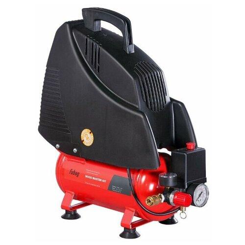 Фото - Компрессор безмасляный Fubag Wood Master Kit, 6 л, 1.1 кВт компрессор безмасляный fubag paint master kit 6 л 1 1 квт