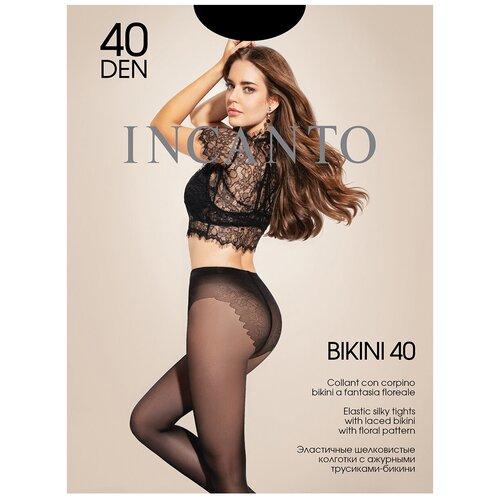 Колготки Incanto Bikini, 40 den, размер 2-S, nero (черный)