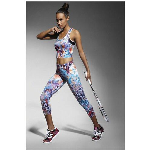 Bas Bleu Легинсы-бриджи для фитнеса Caty, разноцветный, L
