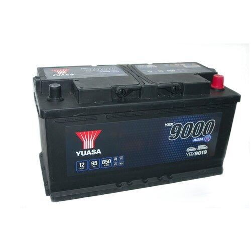 Автомобильный аккумулятор YUASA AGM 95Aч YBX9019-095