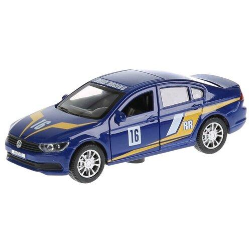 Легковой автомобиль ТЕХНОПАРК Volkswagen Passat Спорт (PASSAT-S) 1:36, 12 см, синий