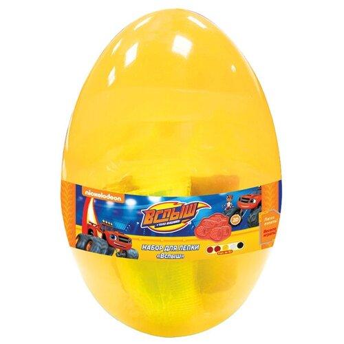 Фото - Масса для лепки РОСМЭН Вспыш яйцо 5 цветов по 15г (33525) масса для лепки росмэн герои в масках 8 цветов по 60 г 33502