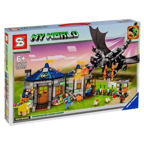 Купить Конструктор SY My world SY6184 Возвращение дракона, Конструкторы