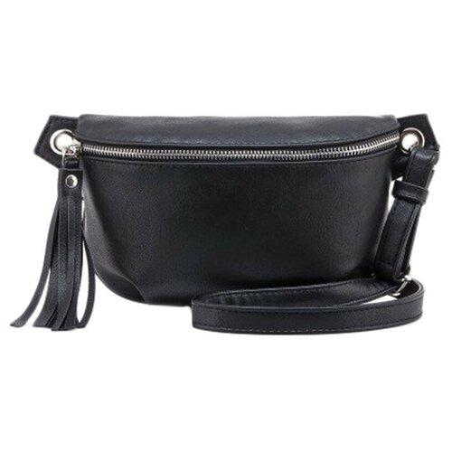 сумка на пояс женская dimanche регби цвет черный 231 1f Сумка женская на пояс Slavia S-1106-910-01