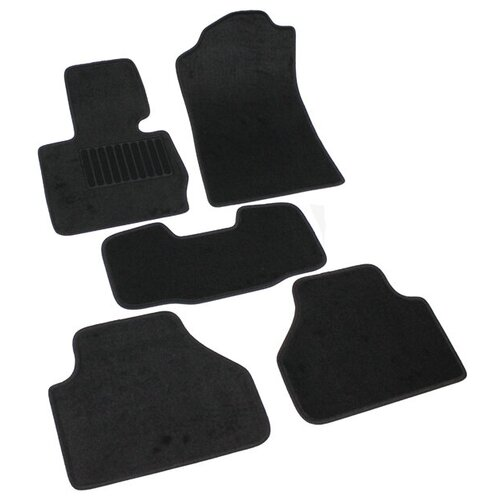 Комплект ковриков салона NorPlast NPL-VTe-070-041 4 шт. черный