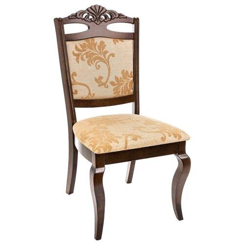 Фото - Стул Woodville Demer, дерево/текстиль, цвет: cappuccino/бежевый стул деревянный woodville demer cappuccino