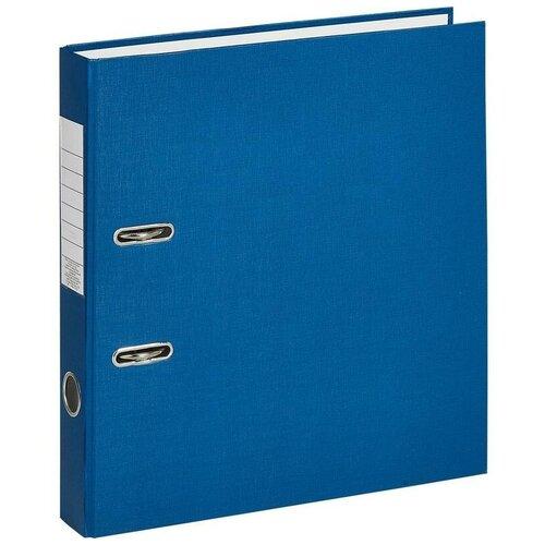Фото - Attache Папка-регистратор Economy A4, бумвинил, 50 мм синий 2 attache папка регистратор economy под мрамор 50 мм черный синий