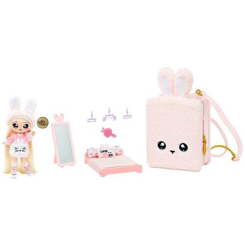 Кукла Na! Na! Na! Surprise 3-in-1 Backpack Bedroom Playset Pink, 569732 недорого