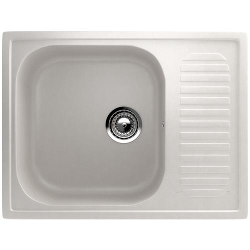 Фото - Врезная кухонная мойка 64 см EcoStone ES-18 341 Молочный врезная кухонная мойка 103 см ecostone es 29 308 черный