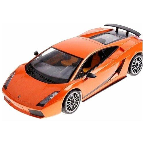 Легковой автомобиль Rastar Lamborghini Superleggera (26400) 1:14 31 см оранжевый/черный легковой автомобиль rastar land rover discovery 3 21900 1 14 черный