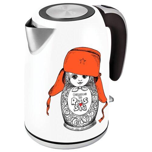 Чайник Polaris PWK 1815CA, белый недорого