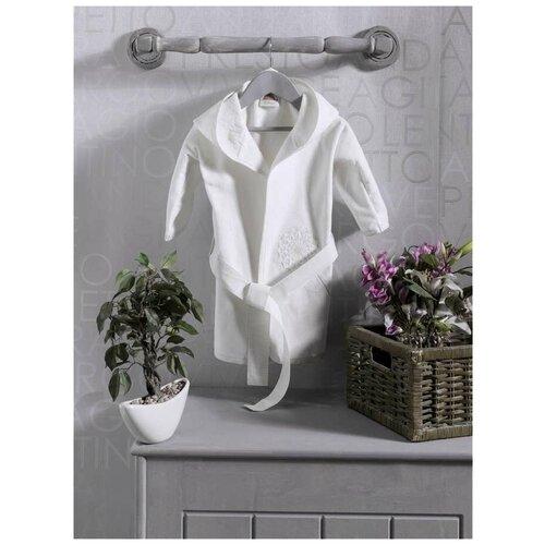 Купить Халат Kidboo размер 2(92), белый, Домашняя одежда