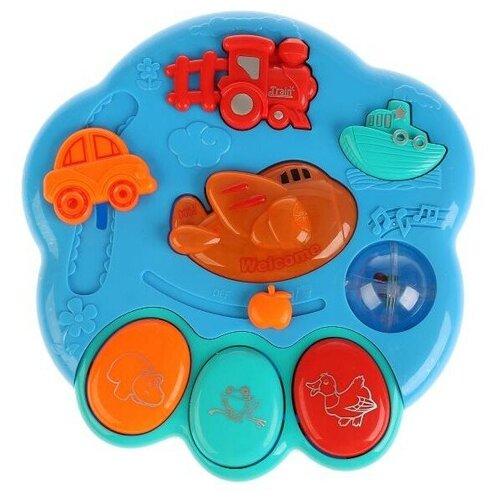 Развивающая игрушка Умка Пианино-погремушка со стихами М. Дружининой, мультицвет, Развивающие игрушки  - купить со скидкой