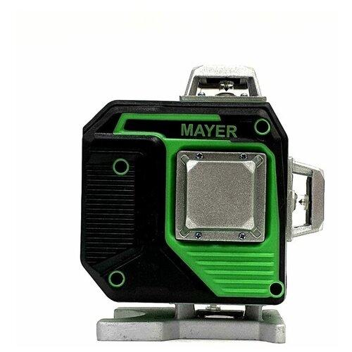 Профессиональный Лазерный уровень (нивелир) MAYER 4D 16 линий 2 Li-Ion аккомулятора