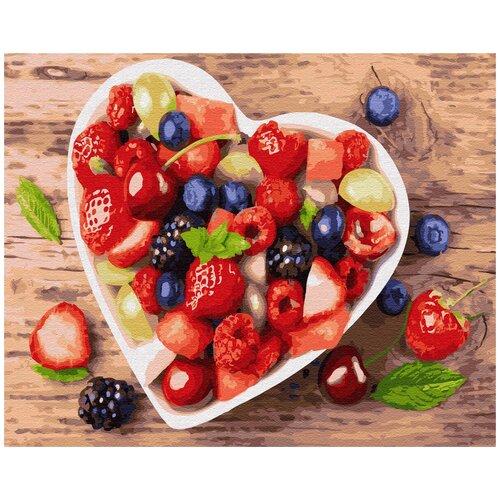 Купить Картина по номерам ВанГогВомне С любовью к здоровью 40х50 см, ВанГогВоМне, Картины по номерам и контурам
