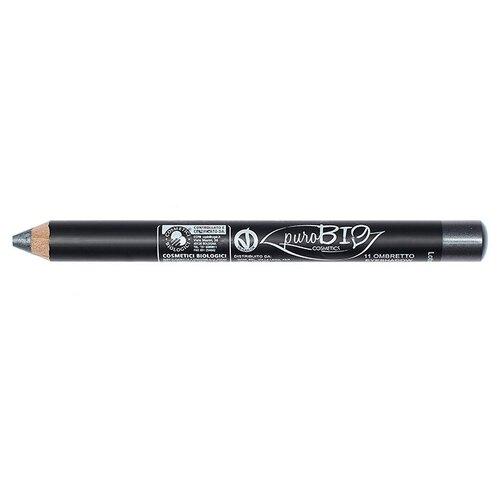 PuroBIO Тени для век в карандаше 11 темно-серый