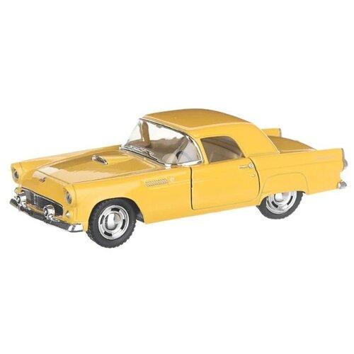 Купить Легковой автомобиль Serinity Toys Ford Thunderbird 1955 (5319DKT) 1:36, 12.5 см, желтый, Машинки и техника