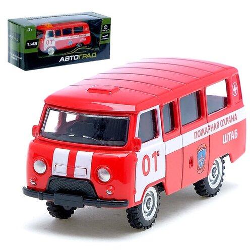 Фото - АВТОГРАД Машина металлическая Микроавтобус пожарная служба, инерция, 1;43, №SL-01428K 3527632 автоград машина металлическая микроавтобус пожарная служба инерция 1 43 sl 01428k 3527632