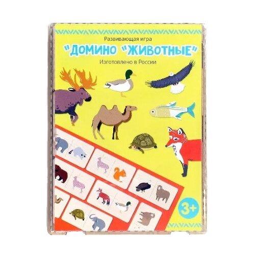 Настольная игра PAREMO Домино Животные PE120-29
