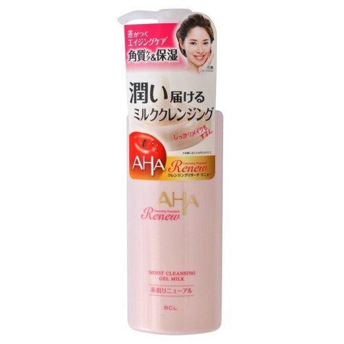 AHA Очищающее и увлажняющее гель-молочко для снятия макияжа с фруктовыми кислотами, 150 мл