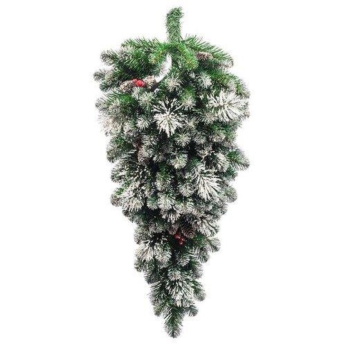 Фото - Царь елка Ель искусственная декор КАПЛЯ ФЬЮЖН, 90 см царь елка ель искусственная маг зеленая 90 см