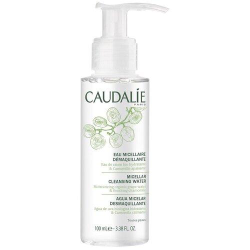Caudalie мицеллярная вода для снятия макияжа, 100 мл
