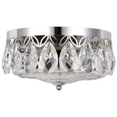 Настенный светильник Crystal Lux Canaria AP2 Nickel светильник crystal lux canaria pl6 d480 nickel canaria nickel