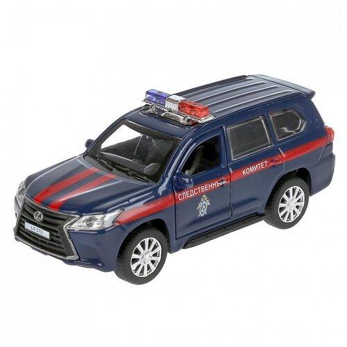 Модель машины Технопарк Lexus LX-570 Следственный комитет, инерционная LХ570-12СОМ-ВU