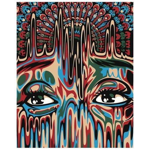 Фото - Картина по номерам Живопись по Номерам Сила павлинов, 40x50 см павлинов