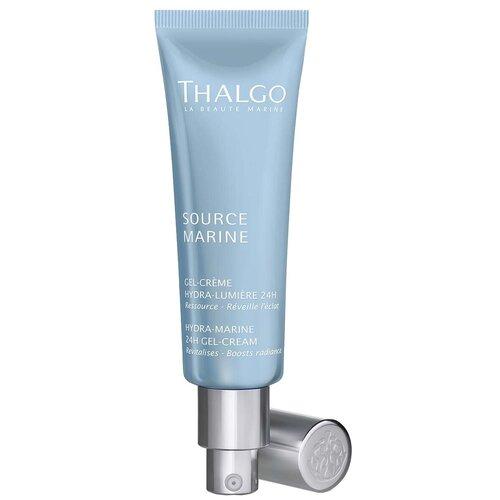 Купить Thalgo Hydra-Marine 24H Gel-Cream Крем-гель для лица увлажняющий Морской Источник, 50 мл